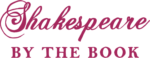 Shakespeare By The Book logo